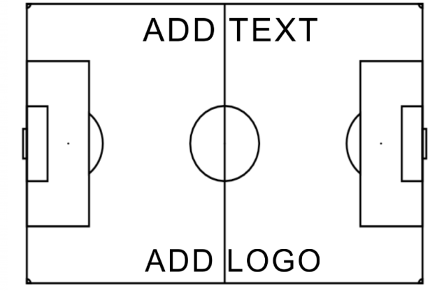 Dry Erase Soccer Field Diagram