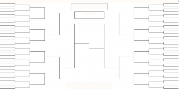 TOURNAMENT BRACKET SHEET BOARDS – Tournament Bracket Template