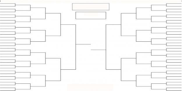 tournament bracket sheet boards